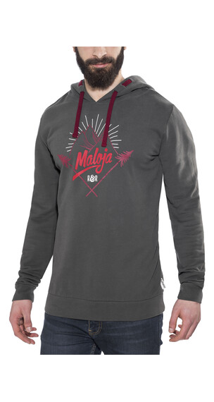 Maloja HaroldM. Sweat Hoody Men charcoal